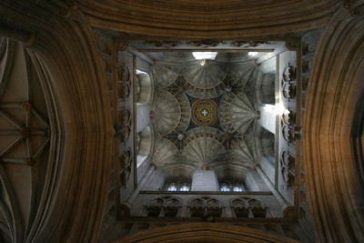 Vaulting in Bell Harry Tower