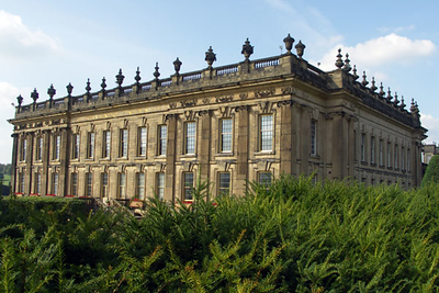 Chatsworth House and Garden, Derbyshire England