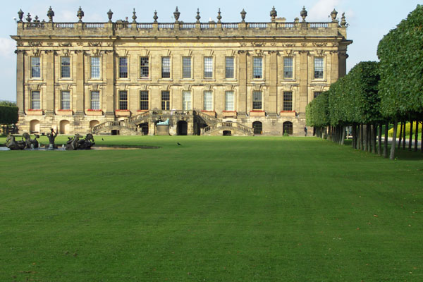 Chatsworth, back view