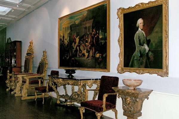 The Long Gallery corridor, Chatsworth