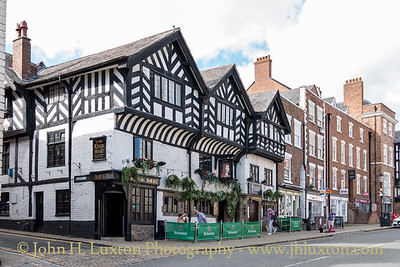 City of Chester, Cheshire, England - August 04,