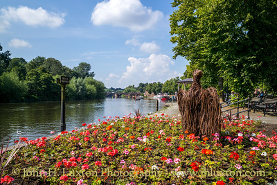 City of Chester, Cheshire, England - August 04, 2021