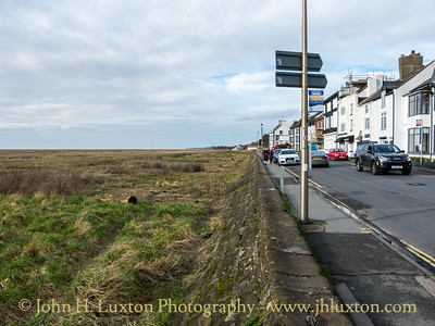 Parkgate, Wirral, Cheshire, England - February 04, 2021