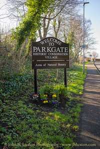 Parkgate, Wirral, Cheshire, England - february 06, 2020