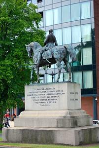 Chester Statue