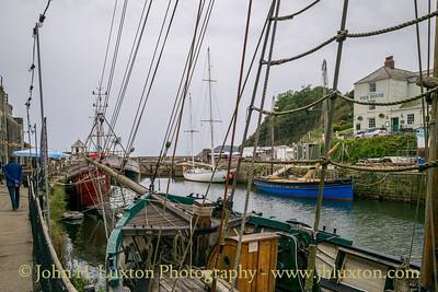 CHARLESTOWN, Cornwall, UK - September 13, 2021