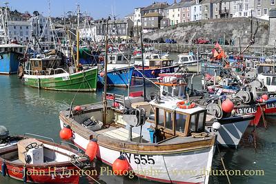 Mevagissey, Cornwall - April 03, 2013