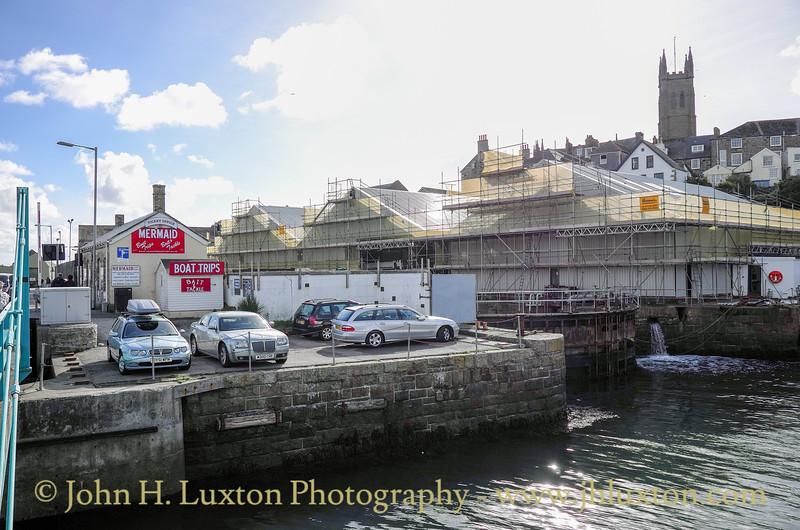PENZANCE - Cornwall, UK - October 25, 2015