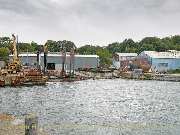 Mashford's Boat Yard, Cremyll, Rame Peninsula, Cornwall - August 29, 2004