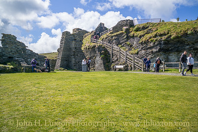 Tintagel Castle, Tintagel, Cornwall - May 19, 2021