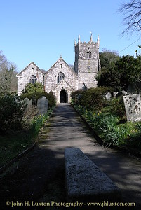 Veryan, Roseland Peninsular, Cornwall - April 2013