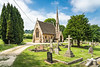 The Box Cemetery and Chapel in Box, Wiltshire, England.