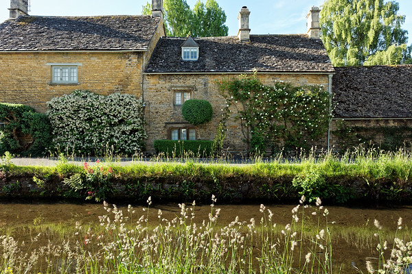 Old stone homes in Lower Slaughter