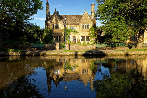 Early morning light in Bourton-on-the-Water