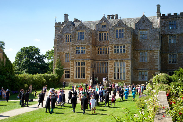 Engllsh country wedding at Chastleton House,  Cotswolds