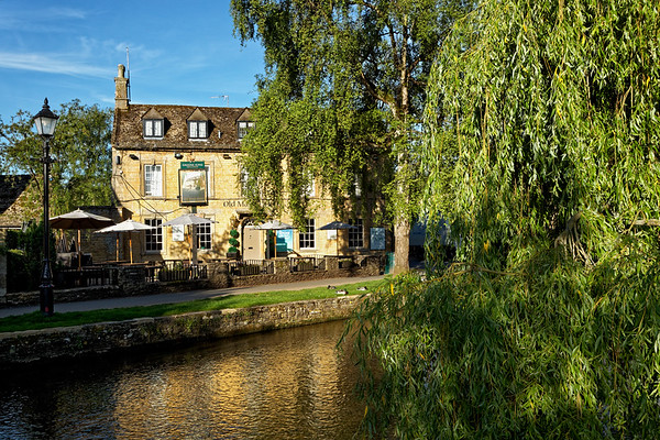 Bourton-on-the-Water with River Windrush