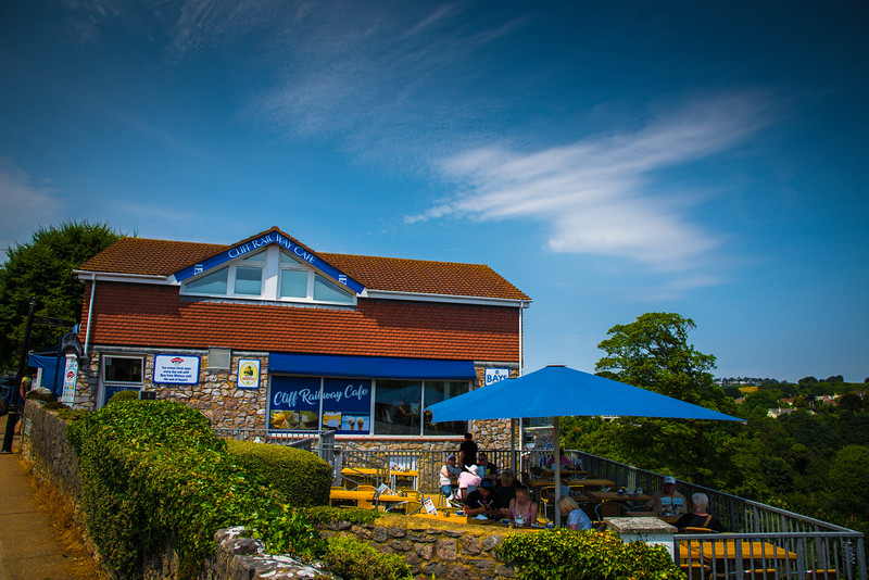 cliff railway cafe babbacombe