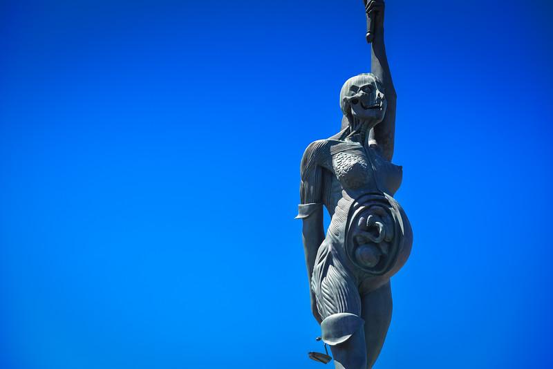 verity statue ilfracombe