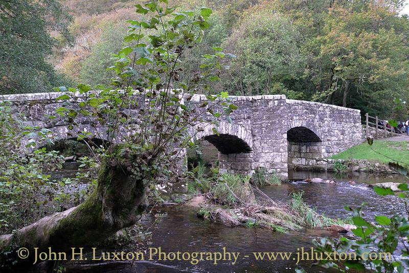 Fingle Bridge, Teign Valley, Devonshire - October 25, 2014