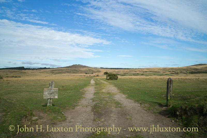 Bellever Tor, Dunnabridge, Dartmoor, Devon - October 26, 2017
