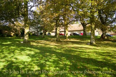 North Bovey, Dartmoor, Devon - October 27, 2017