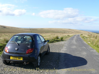 The Okehampton Range Military Road, Dartmoor, Devonshire - August 26, 2007