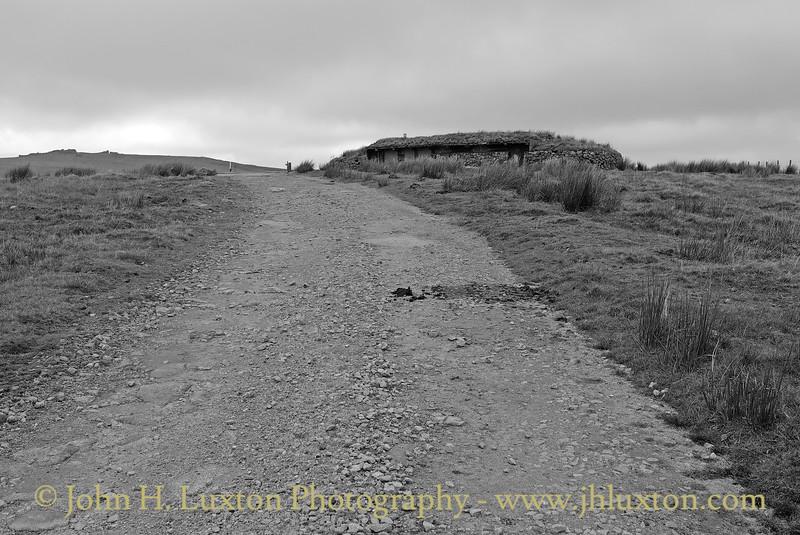 The Okehampton Range Military Road, Dartmoor, Devonshire - October 21, 2012