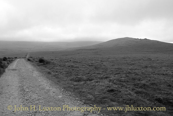 The Okehampton Range Military Road, Dartmoor, Devonshire - October 21, 2012