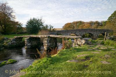 Postbridge, Dartmoor, Devon - October 25, 2017