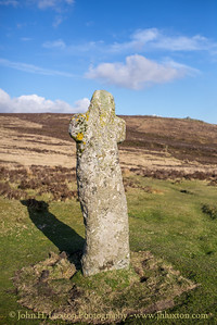Bennett's Cross, Dartmoor, Devon - April 08, 2019