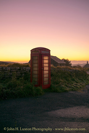 Rundlestone Telephone Box, Princetown, Dartmoor - October 26, 2016