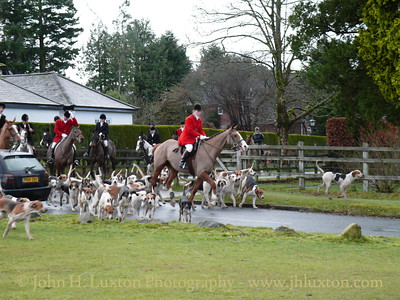 Spooners and West Dartmoor Hunt at Tavistock Golf Club - December 26, 2009