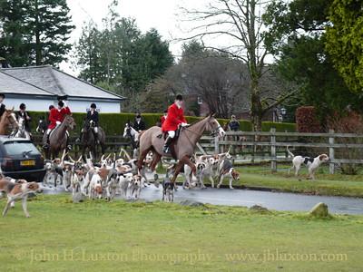 Spooners and West Dartmoor Hunt at Tavistock Golf Club - December 26, 2009