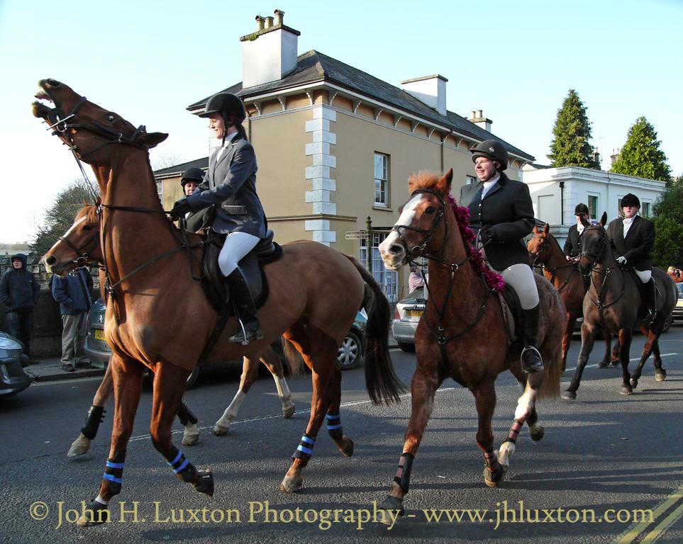 Boxing Day Hunt - Tavistock - December 26, 2008.