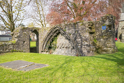Tavistock - Tavistock Abbey Remains - April 10, 2019