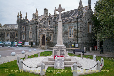 Tavistock War Memorial, Bedford Square - September 13, 2021