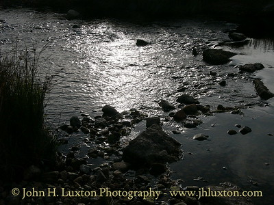 Two Bridges - Reflections in the West Dart River - August 2005