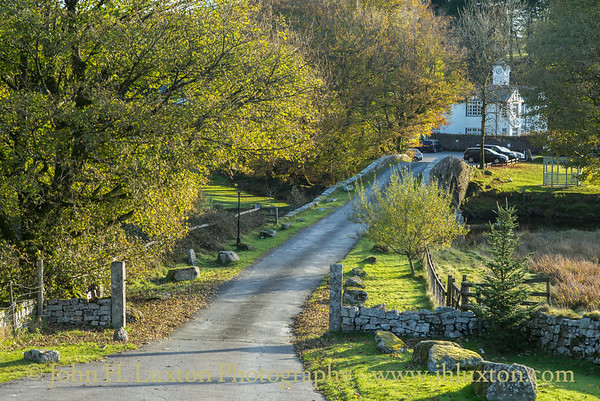 Two Bridges Hotel, Dartmoor, Devon - October  24, 2018