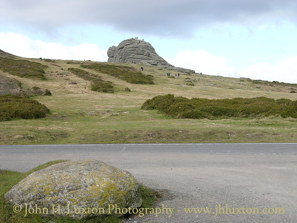 Haytor Rocks - February 15, 2005