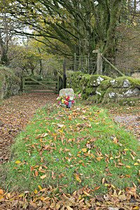 Jay's Grave, Dartmoor, Devon - October 28, 2016