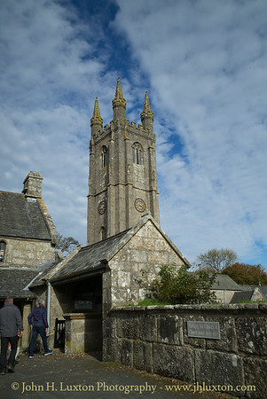 Widecombe in the Moor, Dartmoor, Devon  -  October 25, 2018