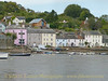 Dittisham Village, photographed from PS KINGSWEAR CASTLE, October 23, 2013