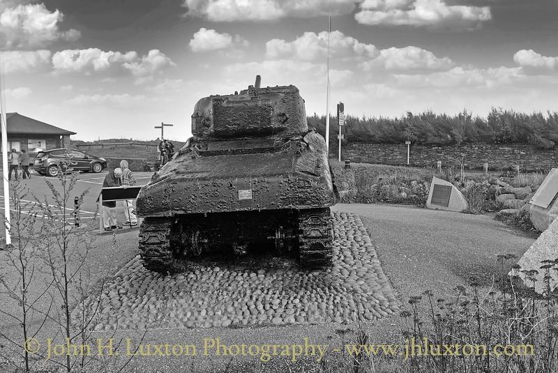 Exercise Tiger Memorial, Torcross, Devon - October 23, 2013