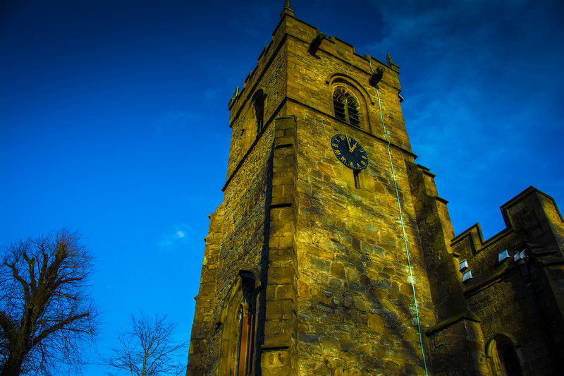 st leonards church in downham lancashire