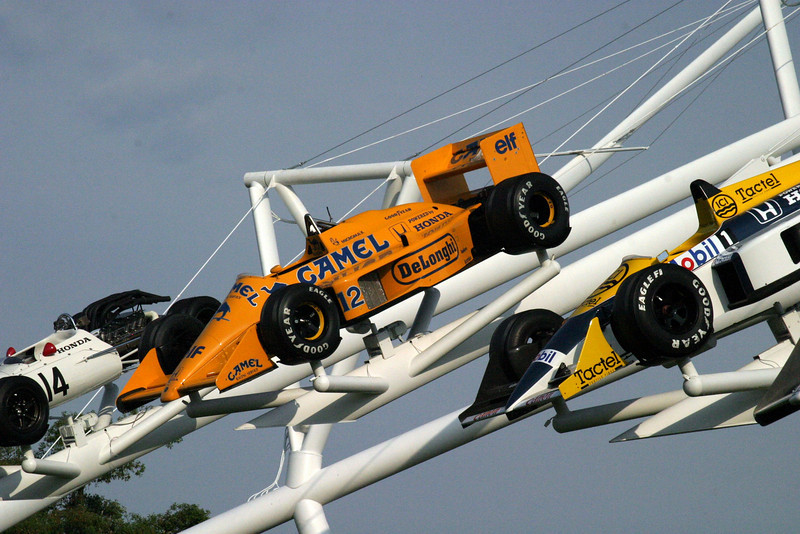 2005 Festival of Speed, Goodwood House Center Display