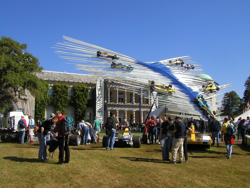 2002 Festival of Speed, Goodwood House Center Display