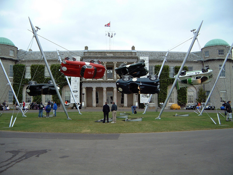 2000 Festival of Speed, Goodwood House Center Display, honouring Jaguar