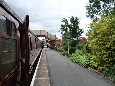 The train at Toddington station