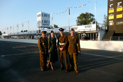 Goodwood Revival,  the worlds greatest vintage motor racing spectacle, no other comes close.