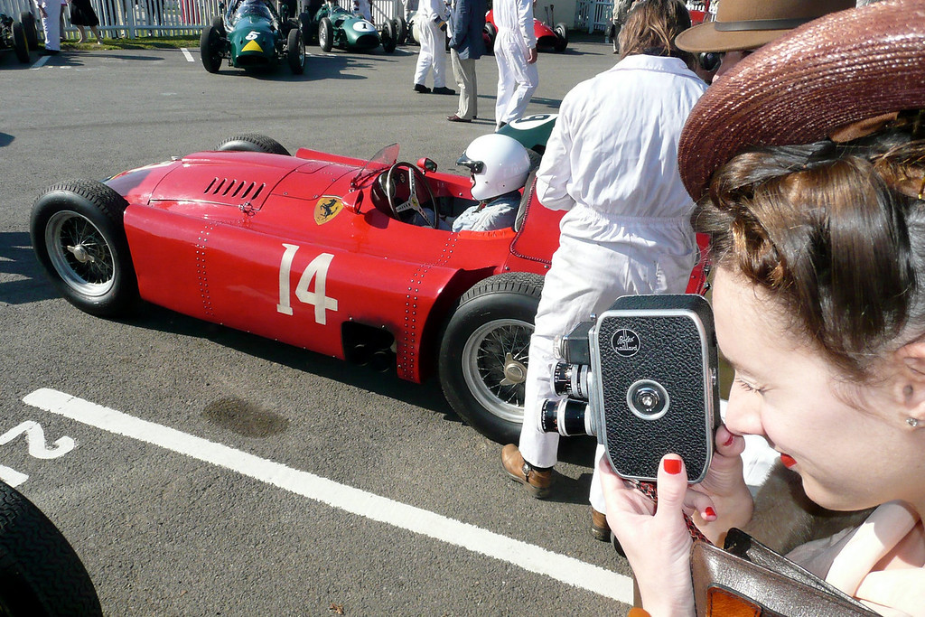 Goodwood- 2008: The in period essence of the Goodwood Revival! It doesn't get any better than this.